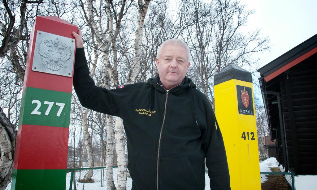 SPIONSIKTET: Frode Berg er arrestert for spionasje i Moskva Foto: Martin Gramnæs, Sør-Varanger Avis / NTB Scanpix