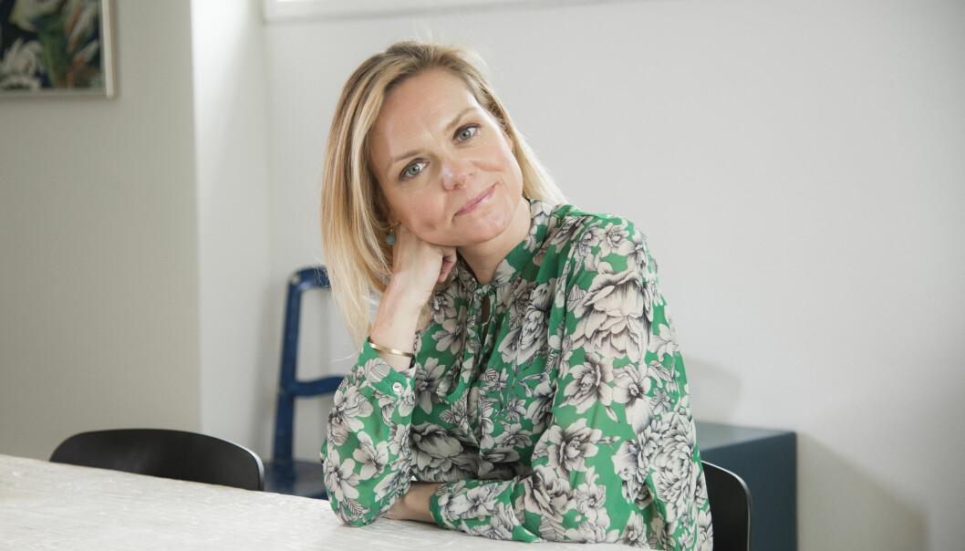 SKILSMISSE: Journalist Karin Heurlin forteller hvordan det var å gå gjennom skilsmissen. FOTO: Jacob Ljørring