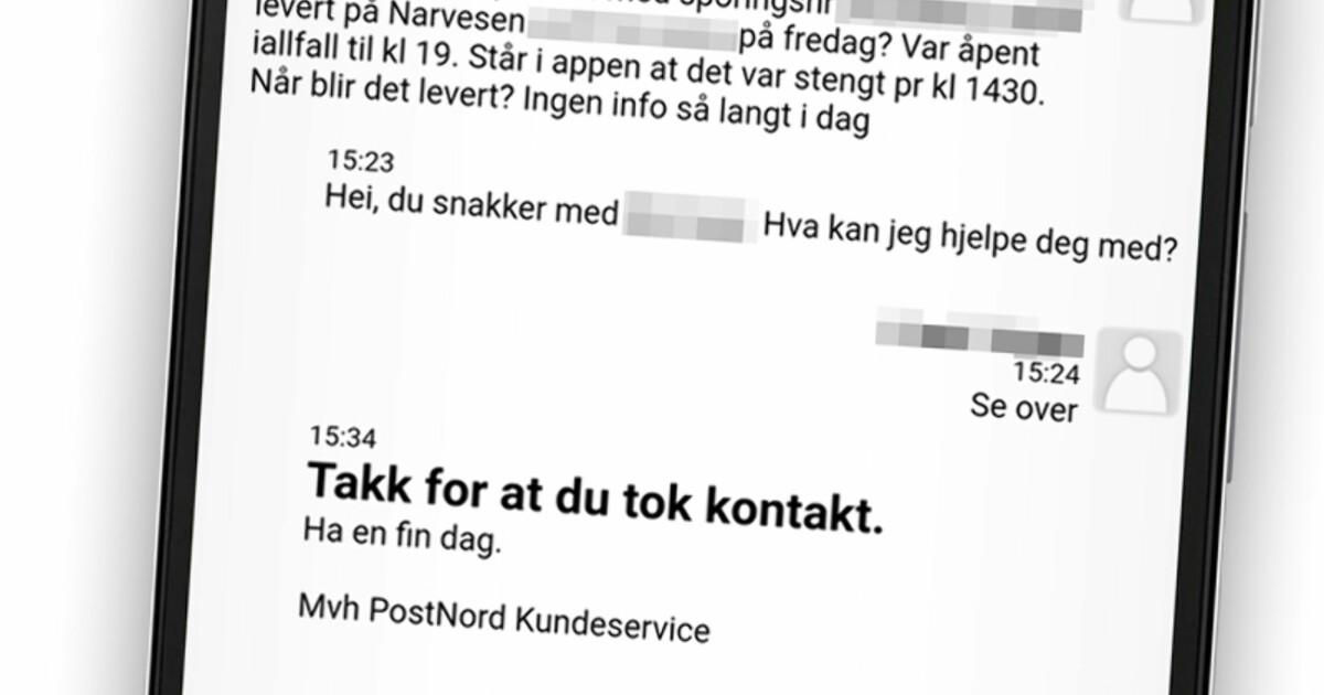 e3e88c40 Reaksjoner på forsinkelser og dårlig kundeservice - Slik sliter nordmenn  med pakker som ikke leveres - DinSide