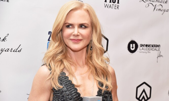 SMELLVAKKER: Skuespiller Nicole Kidman stjeler ofte glansen fra de fleste på rød løper. Her avbildet under 27th Annual Gotham Independent Film Awards i New York forrige måned. Foto: NTB scanpix