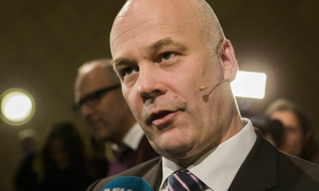 MÅ SPARE: Kringkastingssjef Thor Gjermund Eriksen sier at NRK har redusert bemanningen med 10-11 prosent de siste fire årene, som tilsvarer rundt 400 stillinger. Nå skal de kutte 50 årsverk. FOTO: NTB Scanpix