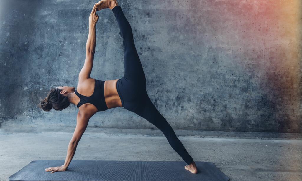 YOGA  I løpet av de siste årene har treningsformen yoga blitt superpopulært  i Norge. 1aab4525533d4