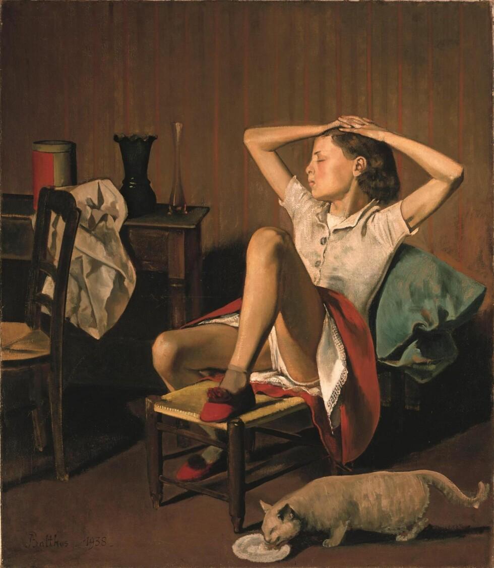 VÅGALT?: Maleriet fra 1938 har noen seksuelle undertoner og man kan skjønne at det vekker reaksjoner.