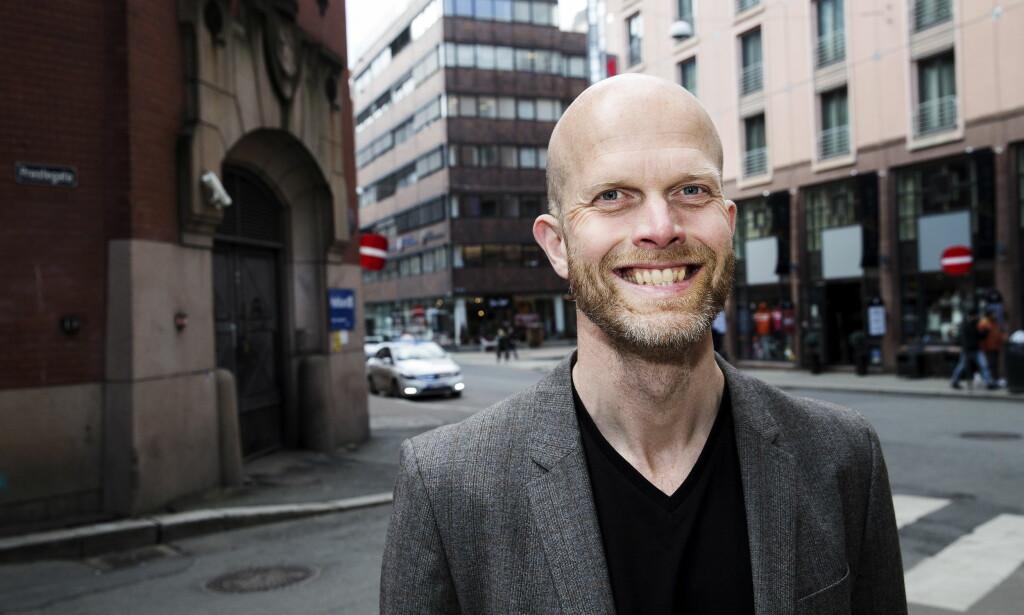 POSITIV: Siviløkonom Hallgeir Kvadsheim er positiv til en NRK-skatt. Foto: Henning Lillegård / Dagbladet.