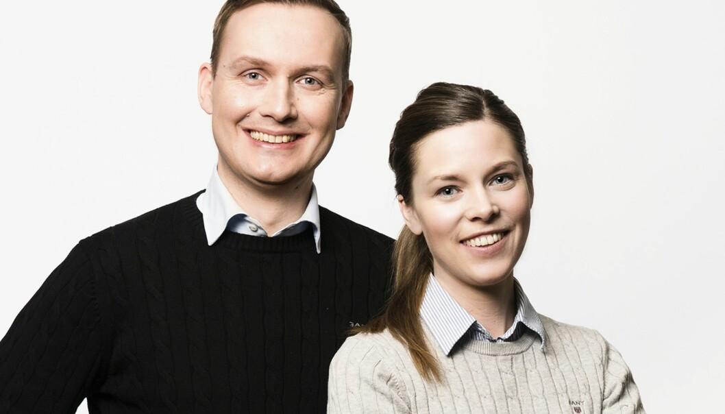 KJØPER IKKE JULEGAVER: Minimalistene Johan og Elisabeth kjøper kun ting barna har behov for og når behovet oppstår. Foto: Göran Segeholm