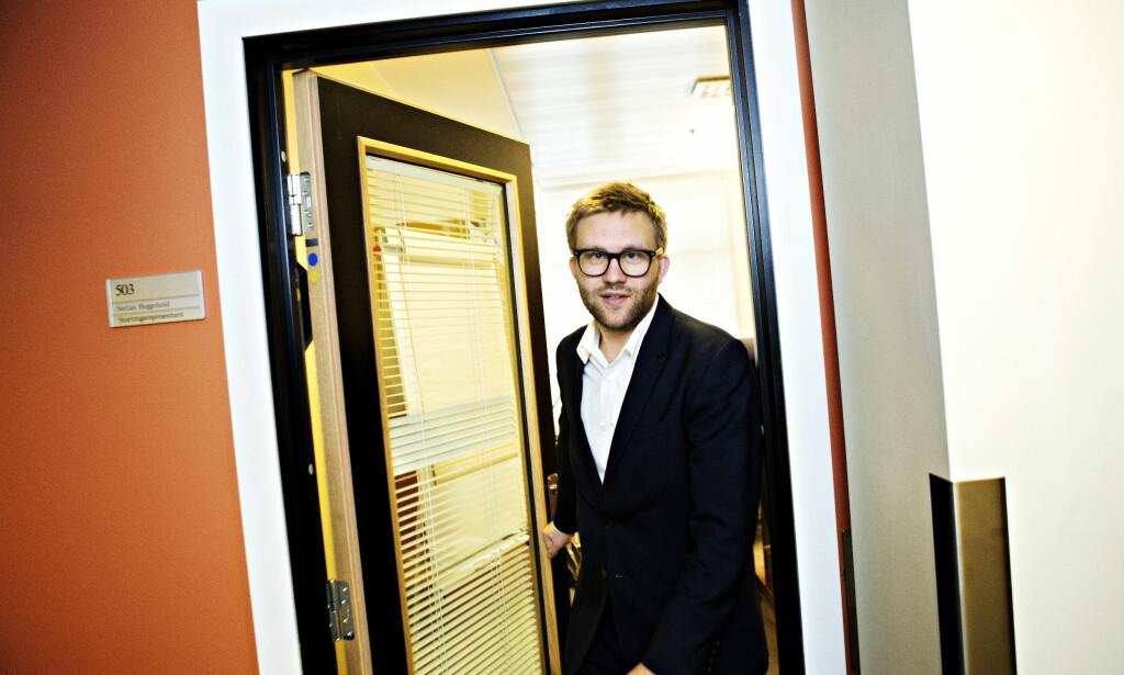 REFSER SV: Stefan Heggelund i Høyre mener SVs kritikk av Terje Søviknes faller på stengrunn. Foto: Nina Hansen / Dagbladet