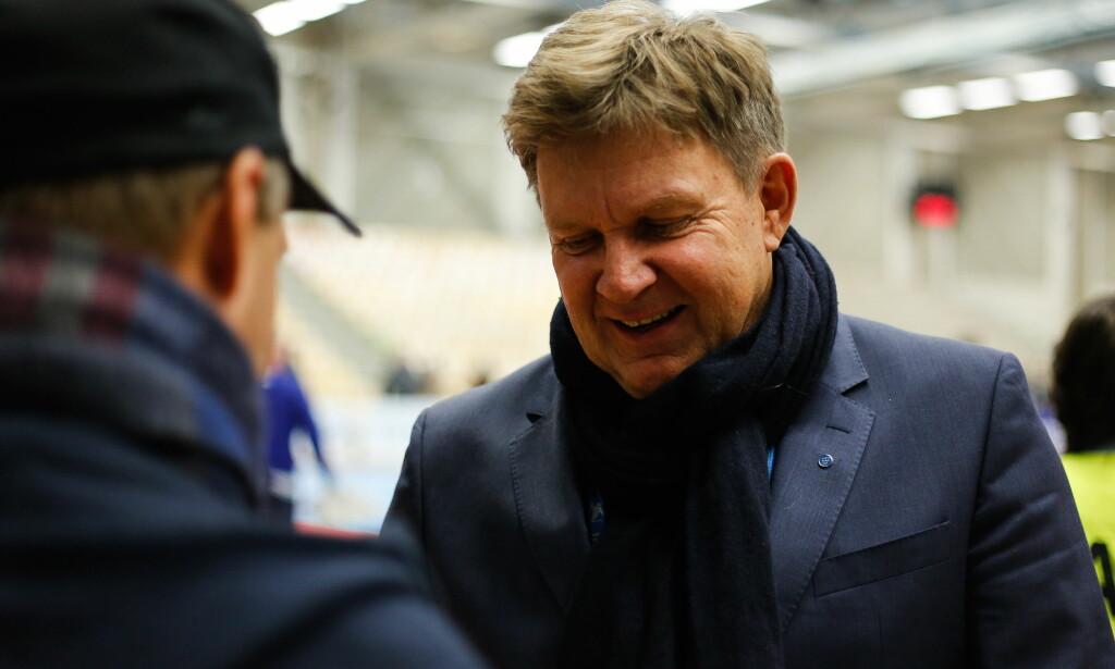UNNSKYLDER SEG: Håndballpresident Kåre Geir Lio sendte en privat unnskyldning til Mørk, som nå er offentliggjort. Foto: Mats Torbergsen / NTB scanpix