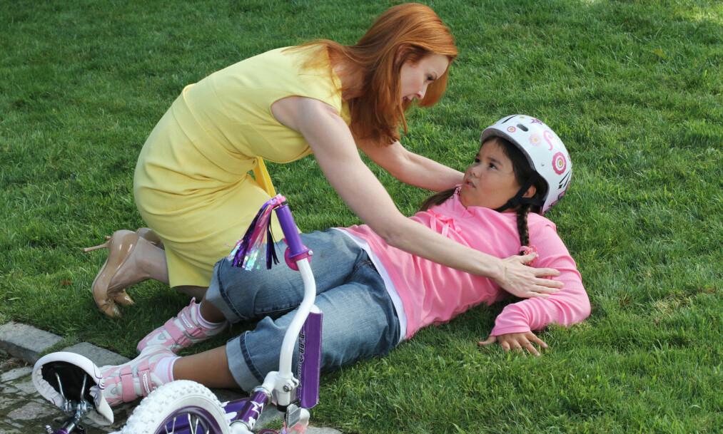 <strong>UGJENKJENNELIG:</strong> Madison De La Garza som spilte Juanita Solis' i suksesserien «Frustrerte fruer» er ikke til å kjenne igjen ni år etter innspilling. Foto: TV 2 / Instagram