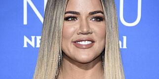 image: Khloe Kardashian (33) venter barn