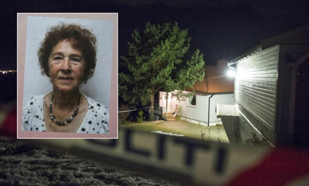 DREPT HJEMME: 84-årige Gudrun Thomassen ble funnet drept i sitt eget hjem på Øyjorda utenfor Finnsnes mandag. En 21-årig kvinne erkjenner de faktiske forholdene. Foto: Hans Arne Vedlog / Dagbladet, Bok I Nord