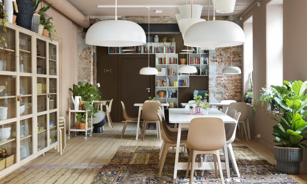 "HEIMATT: Lavterskelcaféen serverer frokost ""hele dagen"". Foto: Inger Marie Grini / Ikea"