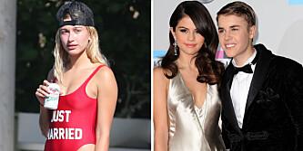 - Justin og Selena kranglet om henne
