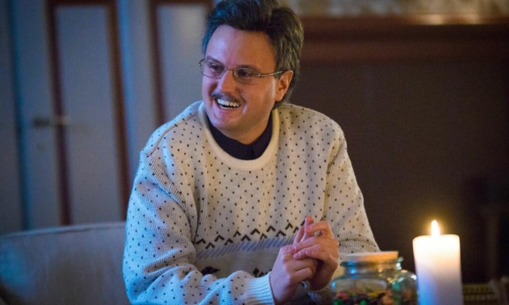 POPULÆR: Kevin Vågenes spiller flere karakterer i «Jul i Blodfjell», og har fått stor oppmerksomhet for det. Nå snakker han om fankaoset. Foto: Discovery