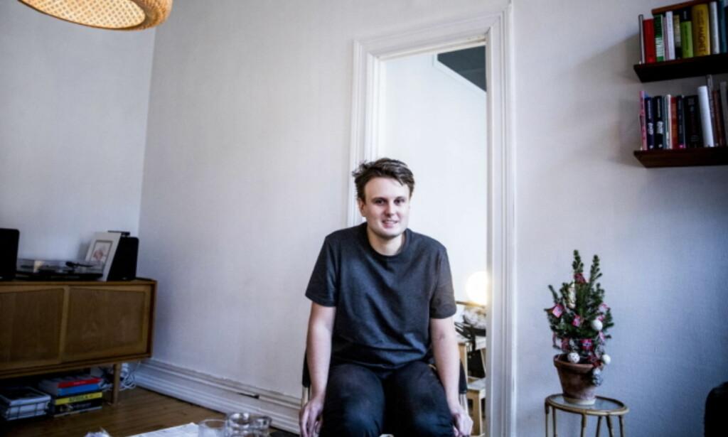MOROMANN: Kevin blir ofte stoppet på gaten av fans, og får hele tiden meldinger og forespørsler i sosiale medier. Foto: Christian Roth Christensen / Dagbladet