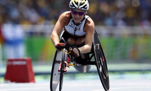 SISTE MESTERSKAP: Her har Vervoort nettopp vunnet bronse på 100 meter under Paralympics i Rio. Foto: REUTERS/Jason Cairnduff