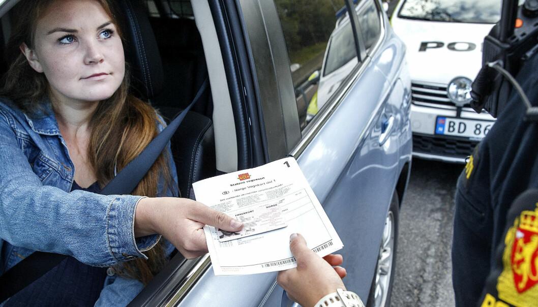 Endring fra 2019: Slik er reglene for prikker på førerkortet