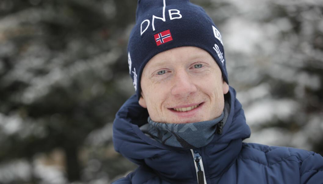 <strong>OPPMERKSOMHET:</strong> I går delte Johannes Thingnes Bø et bilde på Instagram som vekket oppsikt. Her er han under pressekonferansen for skiskyting menn i forbindelse med verdenscupen i skiskyting i Østersund, Sverige. Foto: Lise Åserud / NTB scanpix