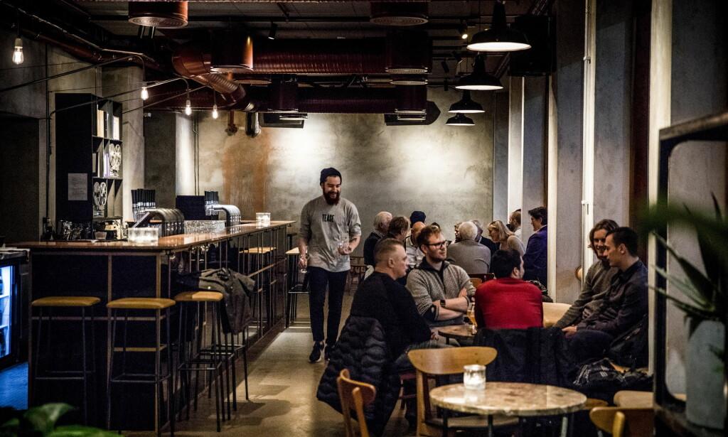 HÅNDSLAG: En av syv nye barer og restauranter i Youngskvartalet. Foto: Christian Roth Christiansen