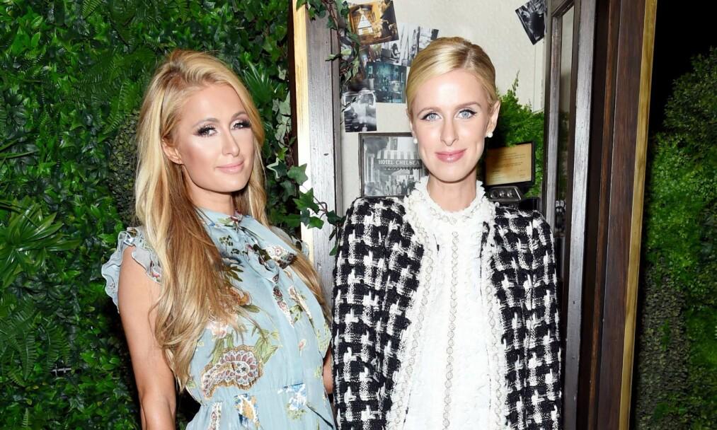 <strong>BLE MAMMA:</strong> Paris Hiltons lillesøster, Nicky Hilton ble tobarnsmor 20. desember. Fredag delte hun den glade nyheten. Foto: AFP