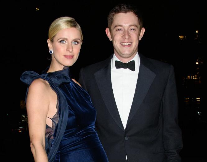 <strong>GIFT:</strong> Nicky og James giftet seg i fjor. Nå er de blitt tobarnsforeldre. Foto: Splash News