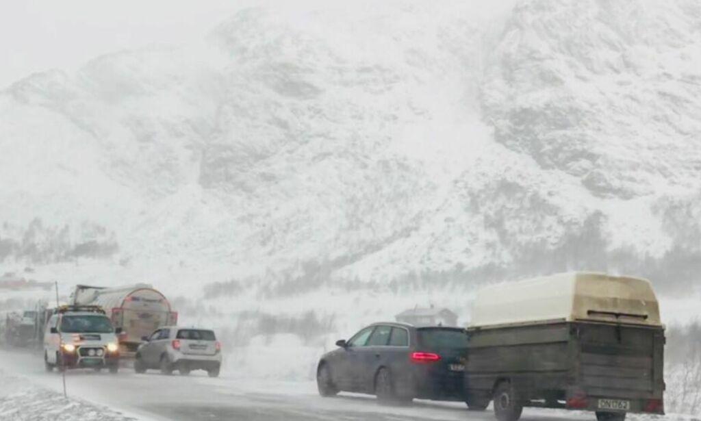 image: Fjelloverganger over hele landet stengt: - Vanskelig start på jula
