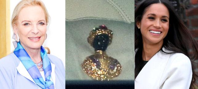 image: Prinsesse brukte «rasistisk smykke» da hun møtte Meghan Markle