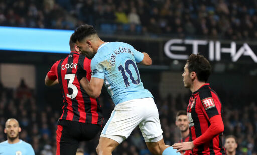 image: Agüero og City knuste Bournemouth