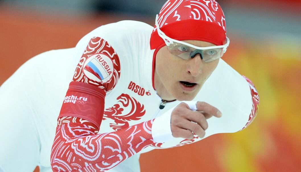 <strong>UTESTENGT:</strong> Russiske Ivan Skobrev ble utestengt fra alle olympiske leker. Til den russiske avisa Sport-Express sier han at noe ekstraordinært skjedde i Sotsji. Foto: NTB Scanpix