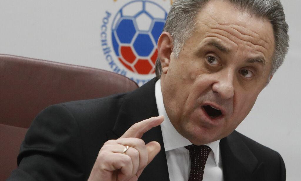 image: VM uanfektet av at Mutko midlertidig går av som fotballpresident