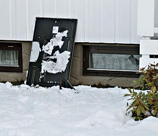image: TV-er gjennom rutene - bolighus rasert under julefest med 80 ungdommer