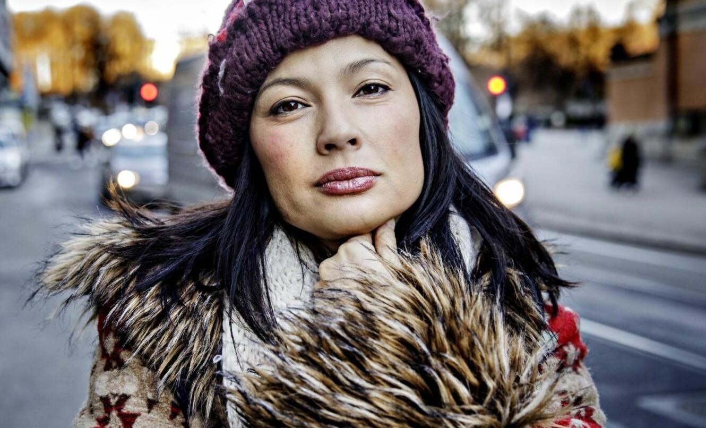 HAR FLYTTET HJEM: Den norske skuespilleren Natassia Malthe (43) har spilt i 56 filmer og bodde 20 år i Los Angeles. Hun beskriver trakasseringen i filmbyen som ekstrem og systematisk. Foto: Nina Hansen / Dagbladet