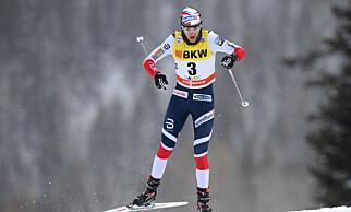FAVORITT: Heidi Weng vant fjorårets Tour de Ski og er igjen den største favoritten. Foto: NTB Scanpix