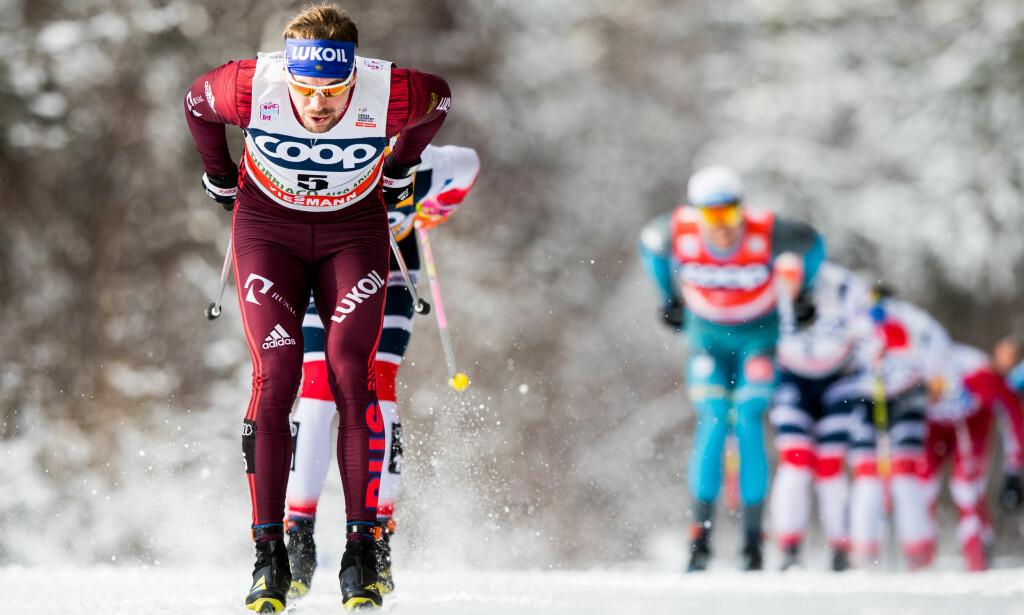 FORHÅNDSFAVORITT: Sergej Ustjugov vant fjorårets Tour de Ski og er igjen favoritter til å vinne ifølge ekspertene Dagbladet har snakket med. Foto: Jon Olav Nesvold / Bildbyrån