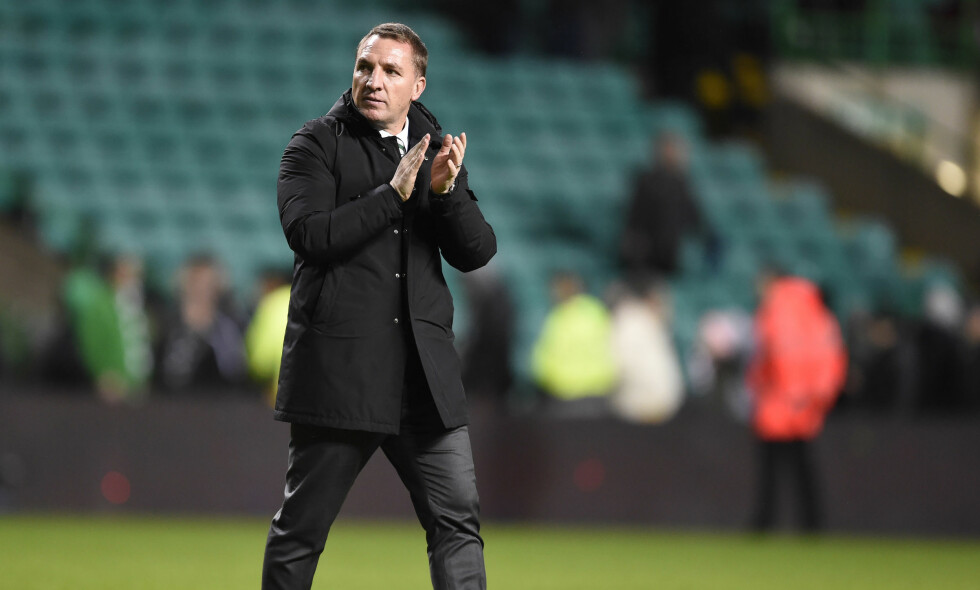 KLAR FOR STORKAMP: Celtic - Rangers er et prestisjefylt derby i Skottland. Brendan Rodgers varsler storform. Foto: NTB Scanpix