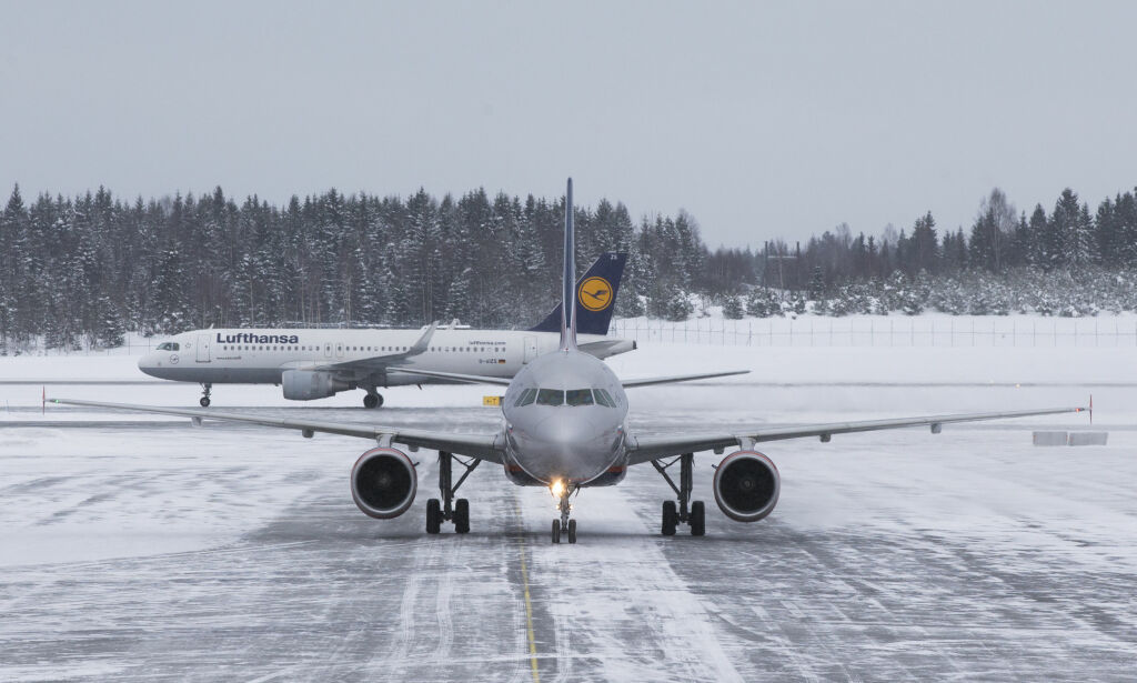 image: Vintervær kan ramme flytrafikken