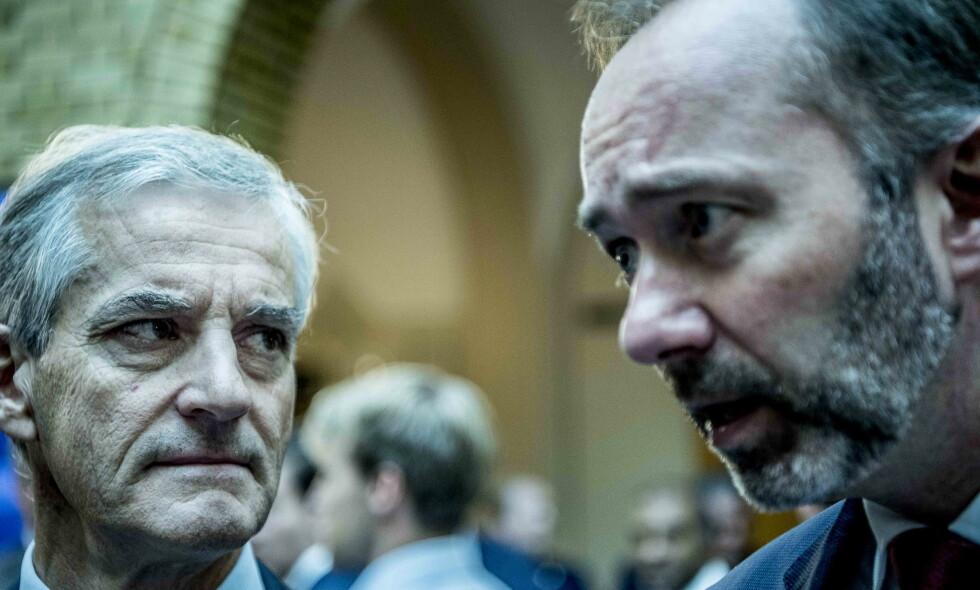 SAGT OPP: To av Trond Giskes nærmeste på Stortinget har sagt opp jobbene sine i partiet. Foto: Thomas Rasmus Skaug / Dagbladet