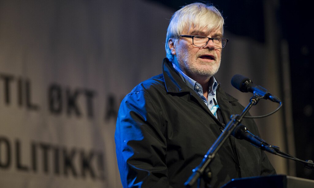 Arbeiderpartiet-politiker Leif Sande truer med å anmelde partiets rådgiver, Anne Odden på bakrgunn av det han kaller en drapsoppfordring. Foto: Carina Johansen / NTB scanpix