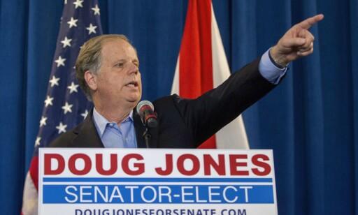 VANT: Demokraten Doug Jones. Foto: NTB scanpix