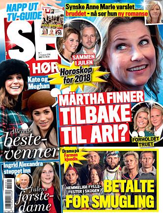 I SALG NÅ: I nyeste nummer av Se og Hør kan du lese mer om Tore Strømøy. Faksimile: Se og Hør