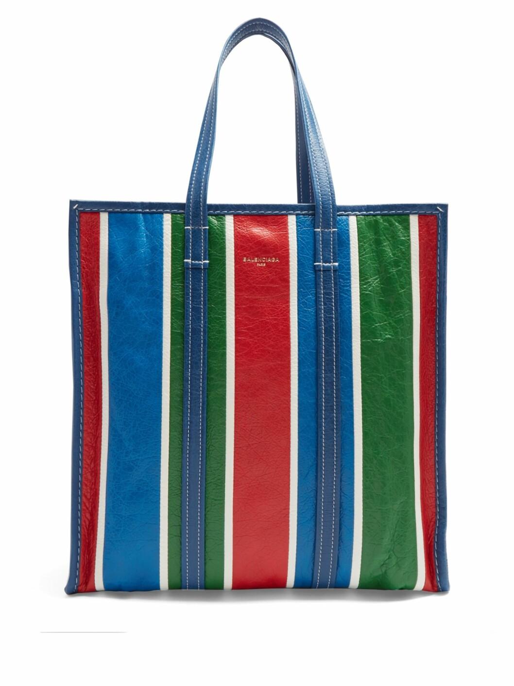 <strong>Veske fra Balenciaga |7755,-| https:</strong>//www.matchesfashion.com/intl/products/Balenciaga-Bazar-shopper-M-1153534