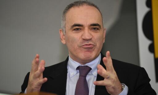 SJAKK-LEGENDE: Garry Kasparov. Foto: Endre Vellene / Dagbladet