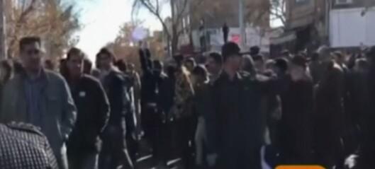 Det begynte med protester mot høye priser, men nå roper de «død over Rouhani»