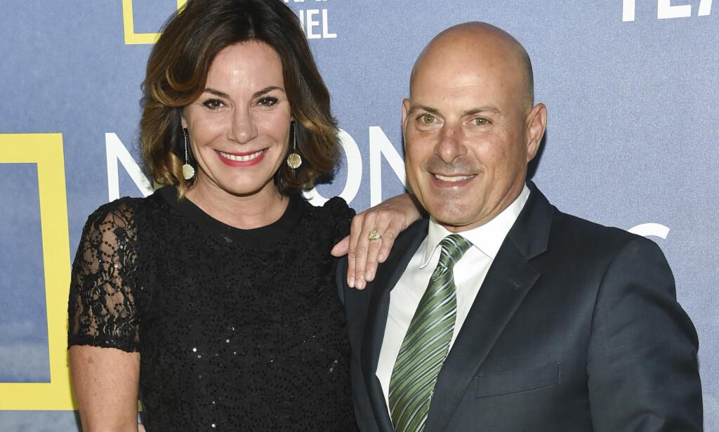 BRUDD: Lesseps og Tom D'Agostino giftet seg på nyttårsaften, men i august valgte paret å ta ut skilsmisse. Foto: NTB Scanpix