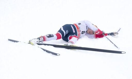 image: Falla vurderer å gi seg i Tour de Ski etter ett renn: - Må ta en tur til legen nå
