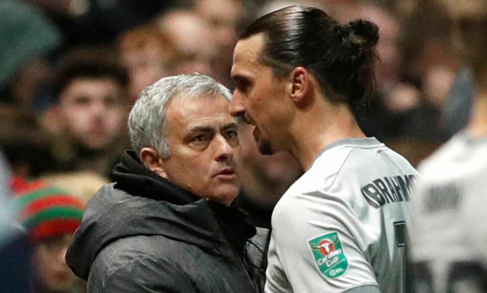MANGE SKADER: Manchester United sliter med mange skader. Lørdag bekreftet Jose Mourinho at Zlatan Ibrahimovic er ute i én måned. Foto: John Sibley / Reuters / NTB Scanpix