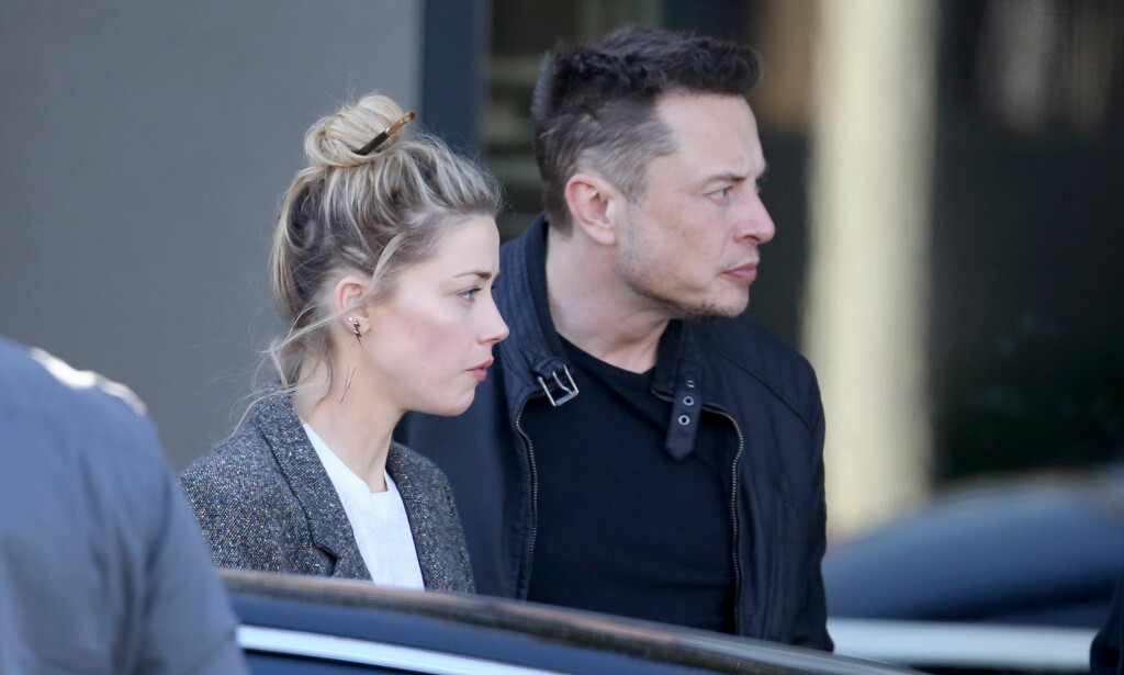 TURBULENT ÅR: Amber Heard fikk tidligere i år innvilget skilsmisse fra Johnny Depp. Etter bruddet med skuespilleren fant hun lykken på ny med Elon Musk. Det ble spekulert i om paret hadde gått hver til sitt tidligere i år, men nå har de reist på ferie sammen til Sør-Amerika. Foto: NTB Scanpix