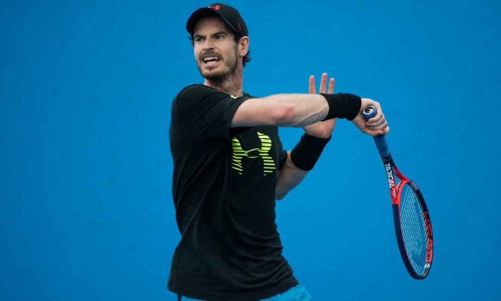 VIL KONKURRERE IGJEN: Andy Murray. Foto: NTB Scanpix