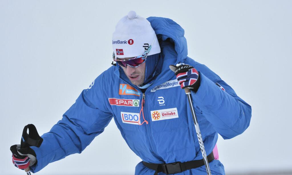 BESTEMMER ALT SELV: Petter Northug trenger bare å vise grei form i løpet av NM. Det gir plass i OL-troppen og tid til å være maksimalt forberedt. FOTO: Ned Alley / NTB scanpix