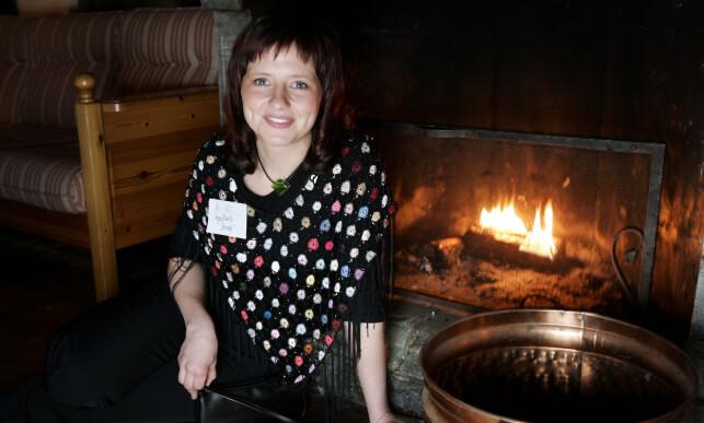 BONDEROMANTIKK: Inga Berit Lein var den aller første kvinnelige «Jakten»-bonden i 2004. Foto: Tor Richardsen / SCANPIX .