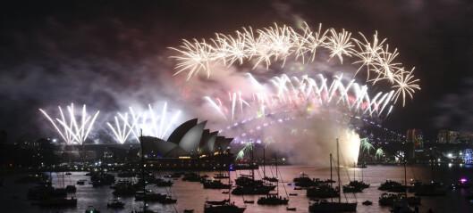 Slik var nyttårsfesten verden rundt. Kaldeste i New York på 100 år